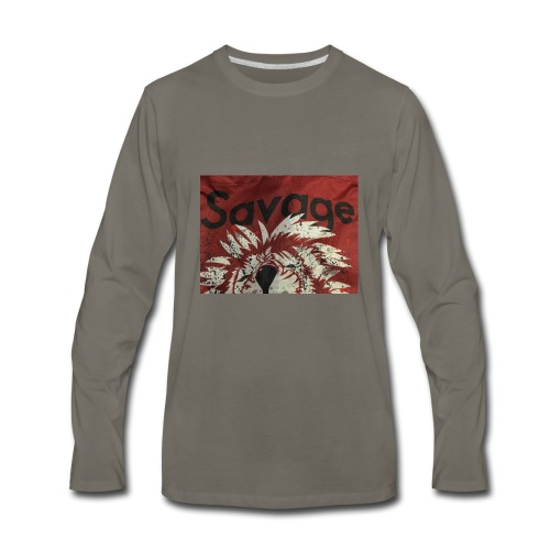Savage merch 🔥🔥 - Men's Premium Long Sleeve T-Shirt