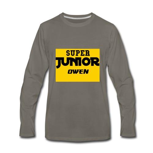 SJO Big DF text - Men's Premium Long Sleeve T-Shirt