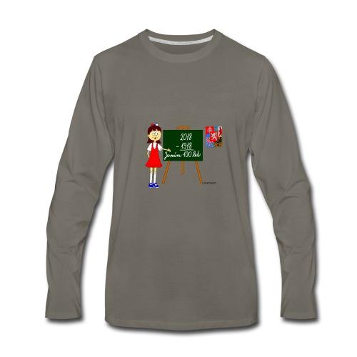 100 years of Czechoslovakia - Men's Premium Long Sleeve T-Shirt