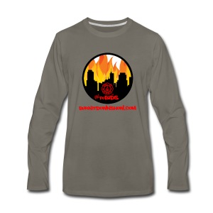OG foBIDS red logo - Men's Premium Long Sleeve T-Shirt