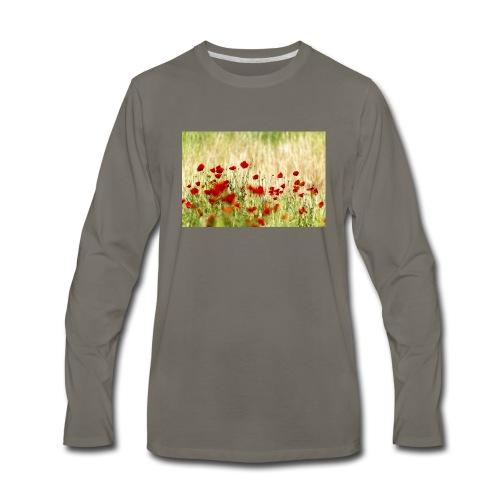 Iranian Poppies - Men's Premium Long Sleeve T-Shirt