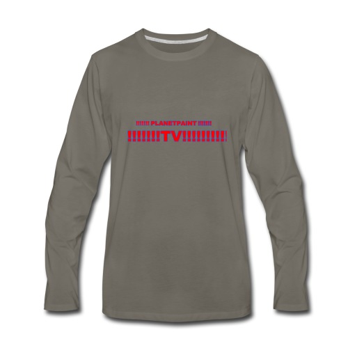 PlanetPaintTV - Men's Premium Long Sleeve T-Shirt