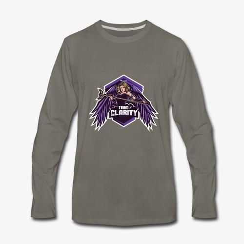 Team Clarity Logo - Men's Premium Long Sleeve T-Shirt