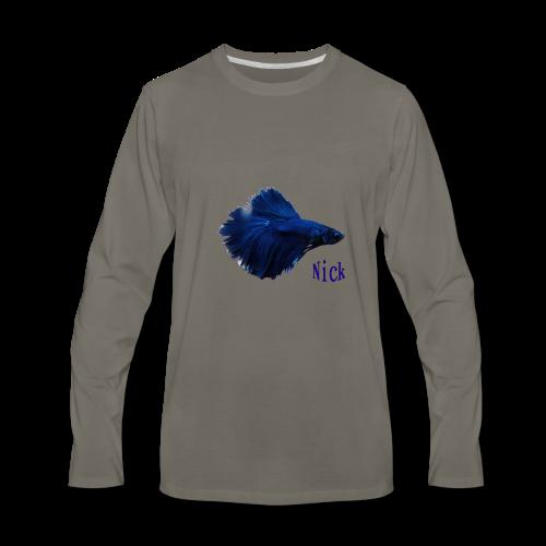 Nick Fish - Men's Premium Long Sleeve T-Shirt