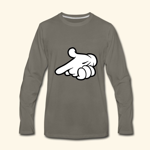 hands - Men's Premium Long Sleeve T-Shirt