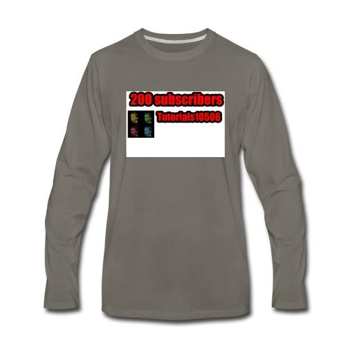 200 Merch - Men's Premium Long Sleeve T-Shirt