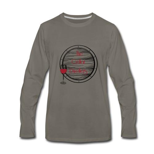 CD_black - Men's Premium Long Sleeve T-Shirt