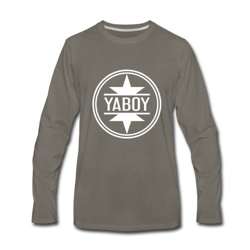 YaBoyLogo - Men's Premium Long Sleeve T-Shirt