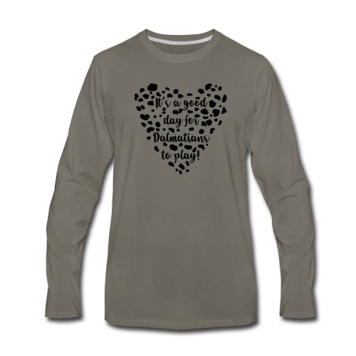 Dalmatians Play - Men's Premium Long Sleeve T-Shirt