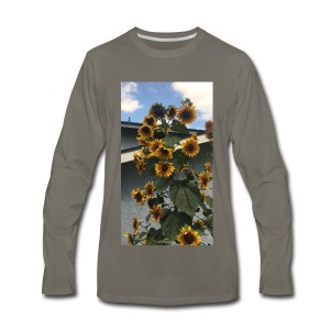 sunflower shirt - Men's Premium Long Sleeve T-Shirt