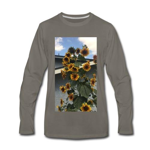 sunflower shirt - Men's Premium Long Sleeve T-Shirt