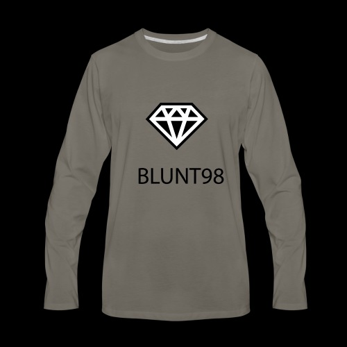 BLUNT98 - Apparel For Creative People - Men's Premium Long Sleeve T-Shirt