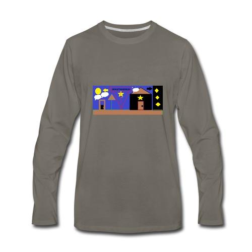 Team Space Thaddeus - Men's Premium Long Sleeve T-Shirt