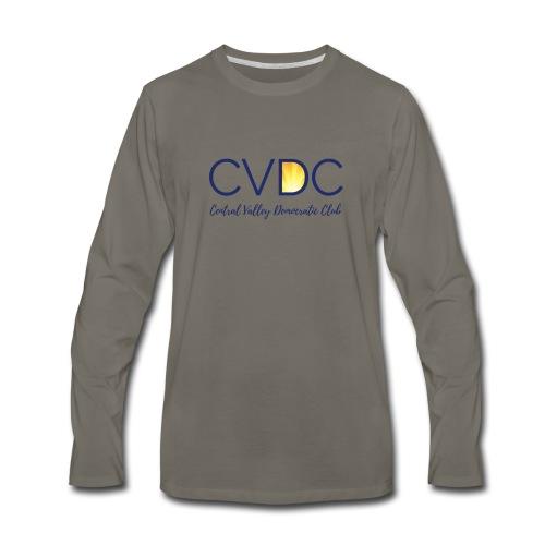 CVDC Blue Logo - Men's Premium Long Sleeve T-Shirt