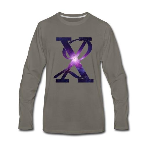 Galaxy X2 - Men's Premium Long Sleeve T-Shirt