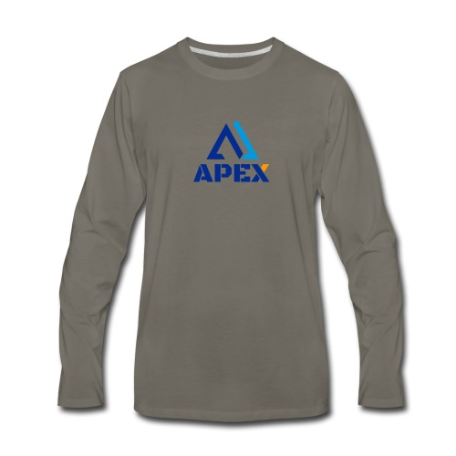 APEX Authentic - Men's Premium Long Sleeve T-Shirt