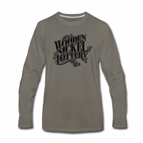 WNL Band Logo - Men's Premium Long Sleeve T-Shirt