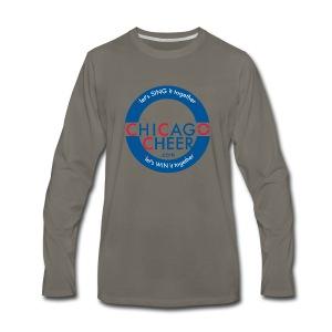 ChicagoCheer.Com - Men's Premium Long Sleeve T-Shirt