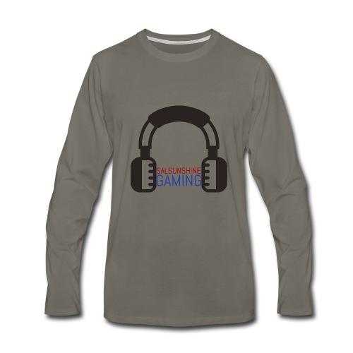 SALSUNSHINE GAMING LOGO - Men's Premium Long Sleeve T-Shirt