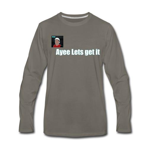 Tim Ayee Merch - Men's Premium Long Sleeve T-Shirt