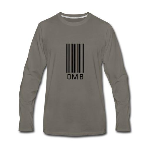 Omb-barcode - Men's Premium Long Sleeve T-Shirt