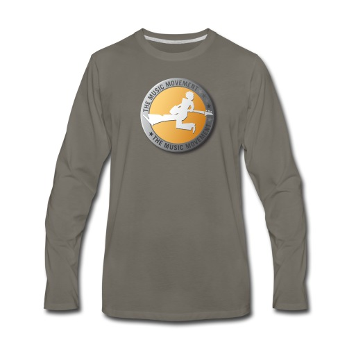 The Music Movement - Men's Premium Long Sleeve T-Shirt