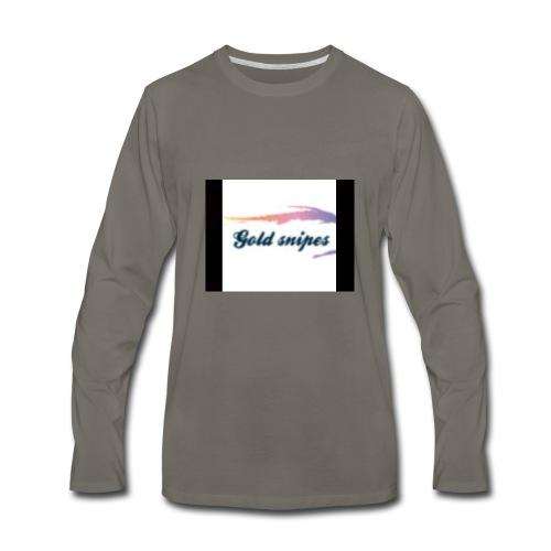 Kids Gold snipes Tshirt - Men's Premium Long Sleeve T-Shirt