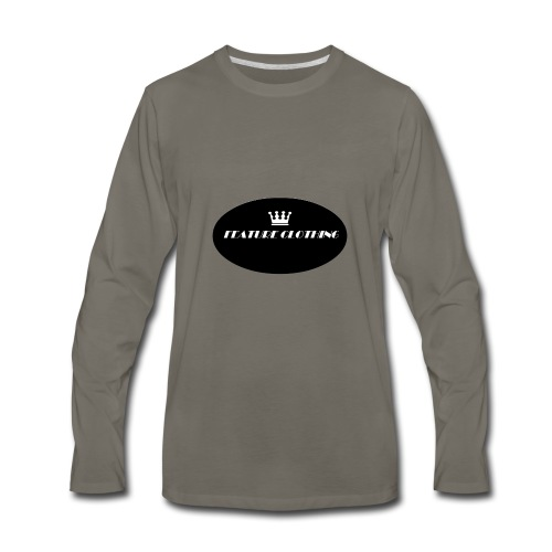 FEATURE_BRAND - Men's Premium Long Sleeve T-Shirt