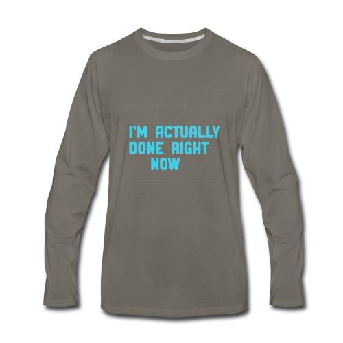 Fuck Black ops 3 - Men's Premium Long Sleeve T-Shirt