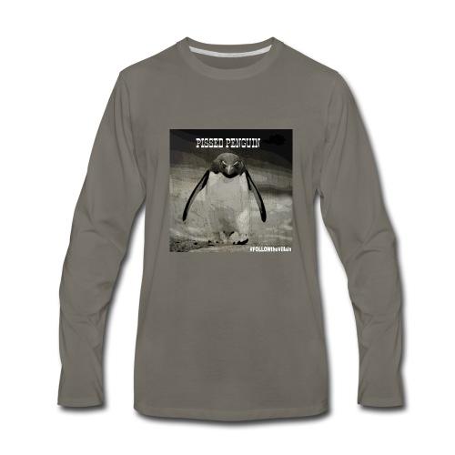 Pissed Penguin - Men's Premium Long Sleeve T-Shirt