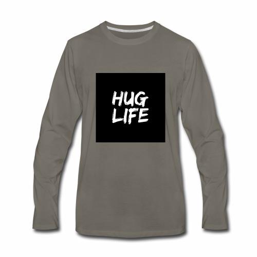 HUG LIFE - Men's Premium Long Sleeve T-Shirt