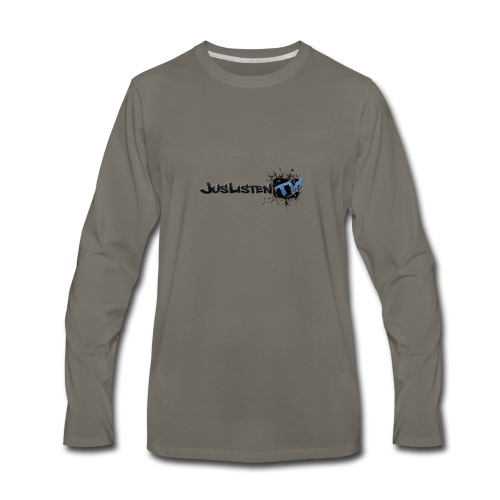 Jltv Logo - Men's Premium Long Sleeve T-Shirt