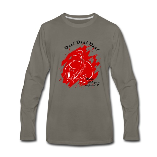 Santa_claus_V1 - Men's Premium Long Sleeve T-Shirt