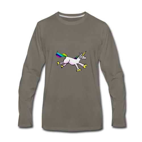 Unicorn Dance Party - Men's Premium Long Sleeve T-Shirt