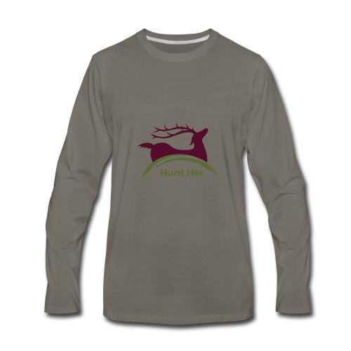 HuntHER Gear - Men's Premium Long Sleeve T-Shirt
