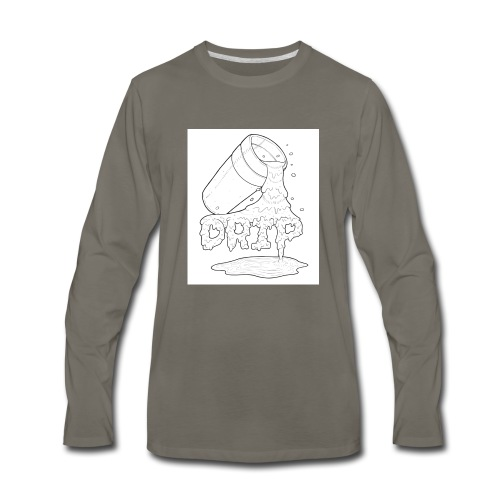 drip sauce - Men's Premium Long Sleeve T-Shirt
