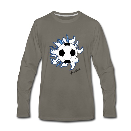 football - Men's Premium Long Sleeve T-Shirt