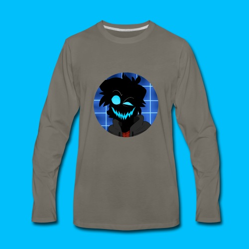 Maniacal Icon - Men's Premium Long Sleeve T-Shirt