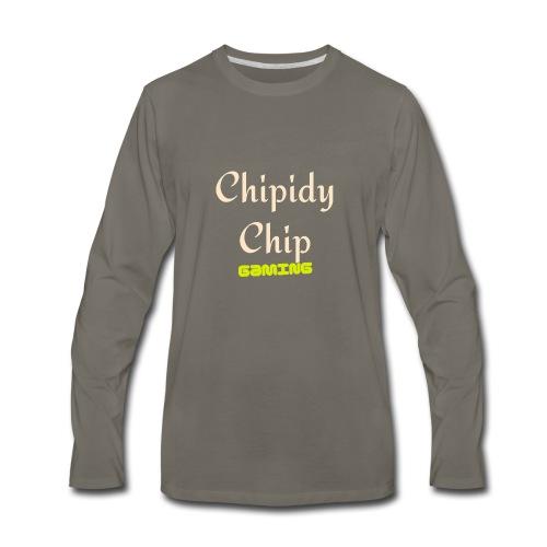 Chipidy Chip Gaming! - Men's Premium Long Sleeve T-Shirt