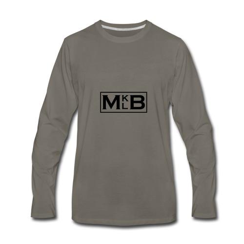 mklb logo -2 - Men's Premium Long Sleeve T-Shirt