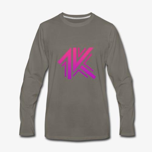 1k Rave in the Redwoods - Men's Premium Long Sleeve T-Shirt