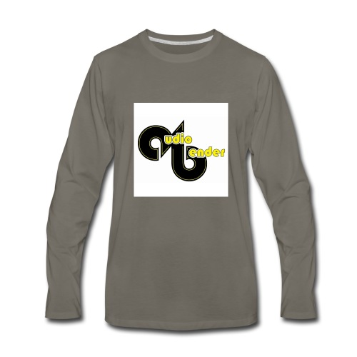 audio bender - Men's Premium Long Sleeve T-Shirt