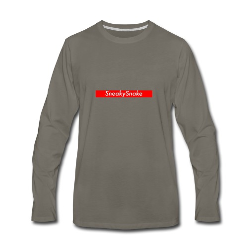 SneakySnake - Men's Premium Long Sleeve T-Shirt