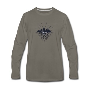 Keep the Wild in You T-shirts and Products - Men's Premium Long Sleeve T-Shirt