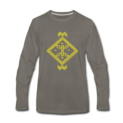 P003 - Men's Premium Long Sleeve T-Shirt