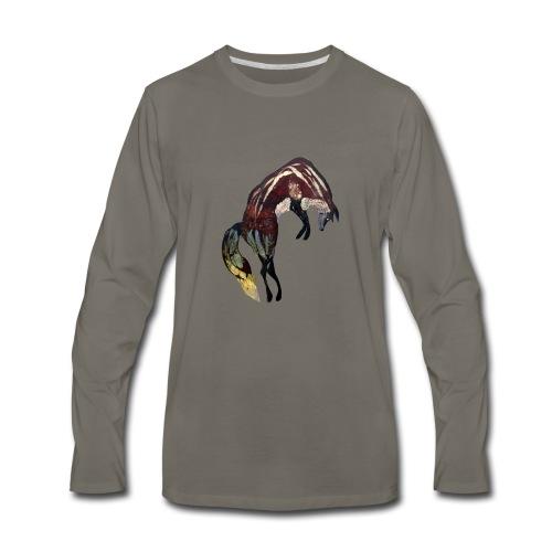 Ghost Fox - Men's Premium Long Sleeve T-Shirt
