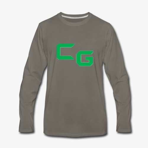 certifiedatol gaming logo - Men's Premium Long Sleeve T-Shirt