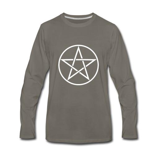 Pentagram Shirts - Men's Premium Long Sleeve T-Shirt