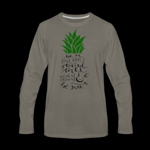 Pineapple - Men's Premium Long Sleeve T-Shirt