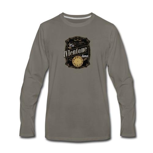 It's Mentone Time - Men's Premium Long Sleeve T-Shirt